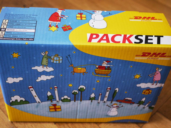 Illus - DHL Paket